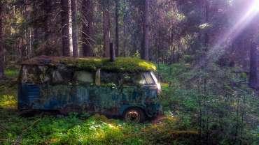 Una VW Transporter de segunda mano