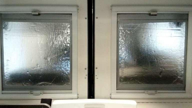 Paneles XPS de 40mm con capa reflectante en aluminio