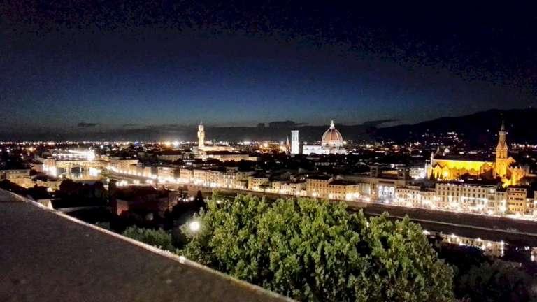 Florencia desde piazzale Michelangelo